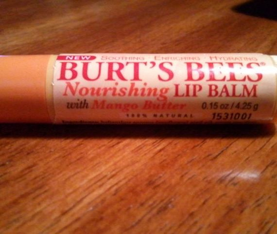 Nourishing Lip Balm with Mango Butter