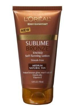 Sublime Bronze Tinted Self-Tanning Lotion in Natural Medium Tan