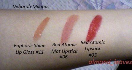 Red Atomic Lipstick #05