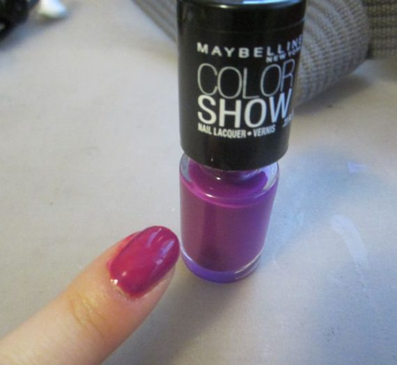 Color Show Nail Lacquer – All Colors