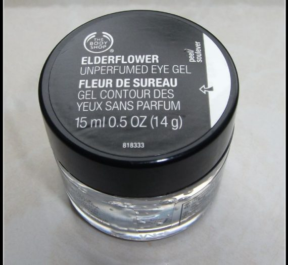 Fragrance-Free Elderflower Eye Gel