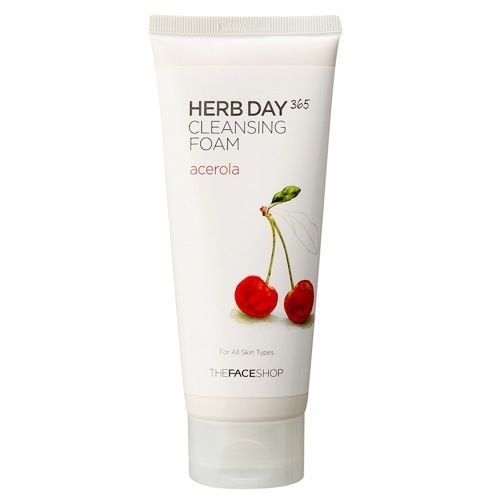 Herb Day Cleansing Foam, Clarifying Acerola