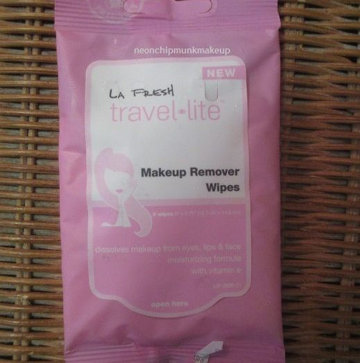 LA Fresh / Travel lite makeup remover wipes