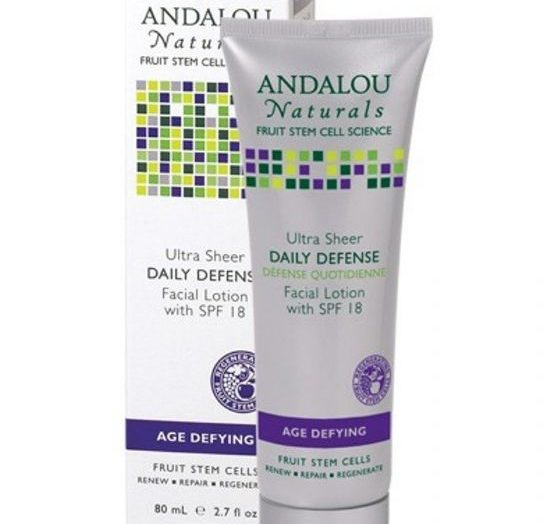 Daily Defense with SPF 18 Facial Lotion