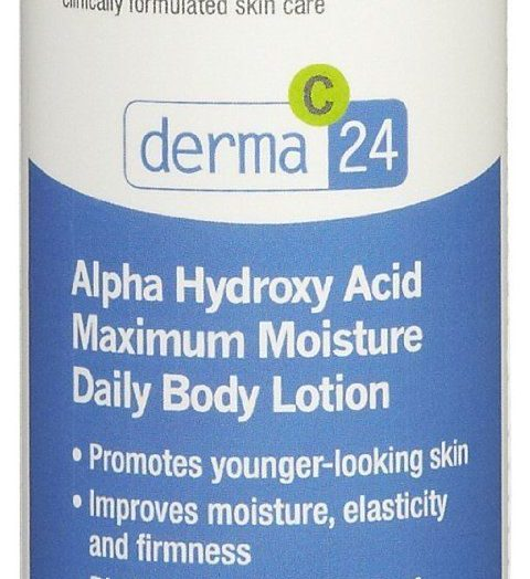 Derma C-24 Alpha Hydroxy Acid Maximum Moisture Daily Body Lotion