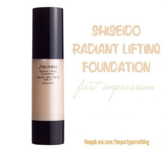 Radiant Lifting Foundation SPF 17