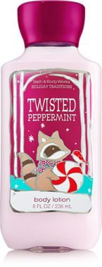 Temptations Twisted Peppermint Body Lotion