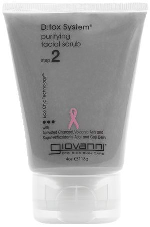 D:tox System Purifying Facial Scrub with Charcoal & Volcanic Ash