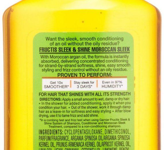 Sleek & Shine Moroccan Sleek Oil Treatment