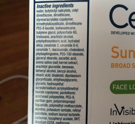 Sunscreen Face Lotion SPF 50