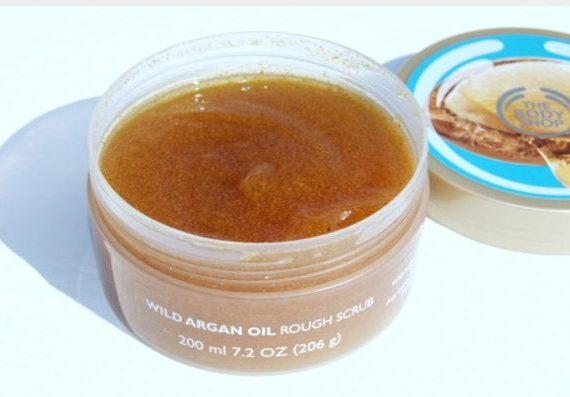 Wild Argan Oil Exfoliating Gel Body Scrub