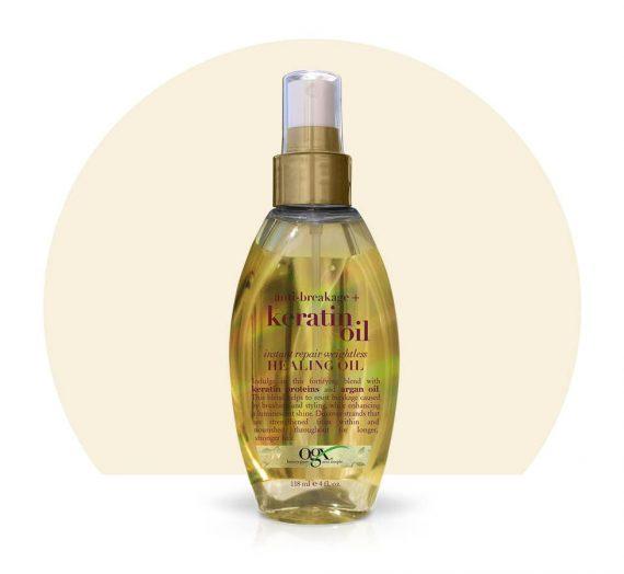 Keratin oil instant repair spray
