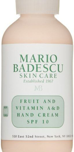 Fruit and Vitamin A&D Hand Cream