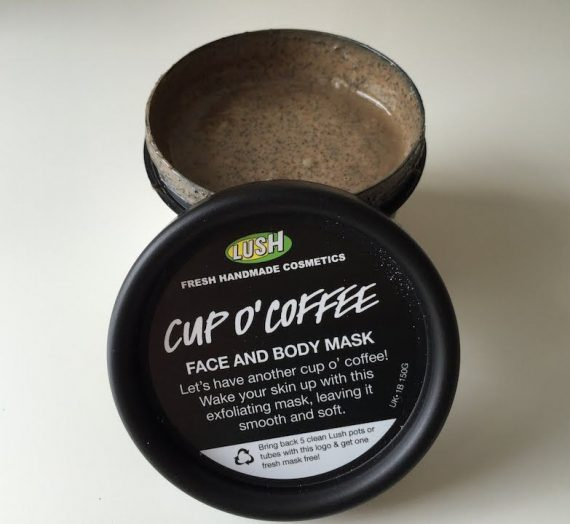 Cup O' Coffee Face & Body Mask