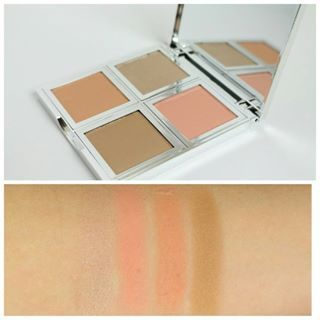 Cosmetics Beautifully Bare Natural Glow Face Palette