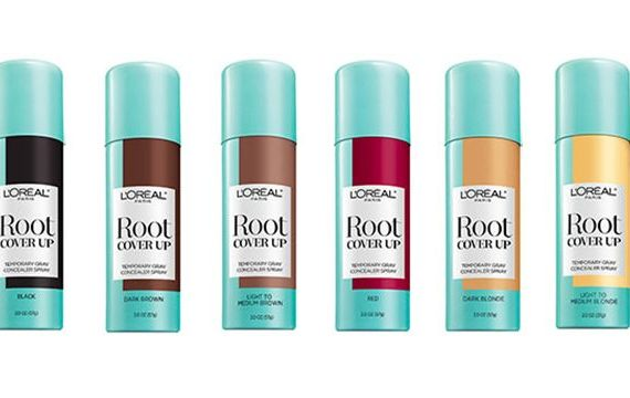 Root Cover Up Temporary Grey Concealer Spray