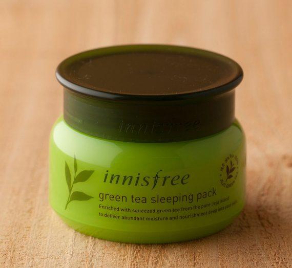 Green Tea Pure Sleeping Pack
