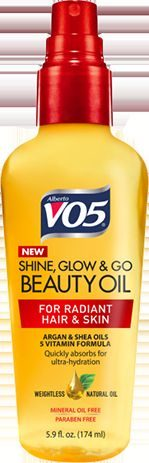 Shine, Glow and Go Beauty Oil