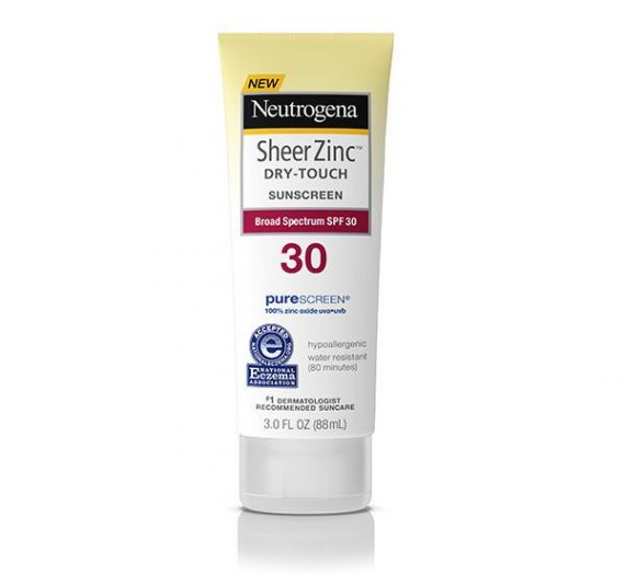 Sheer Zinc Sunscreen Lotion Dry-Touch SPF 30