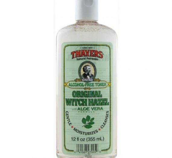 Original Witch Hazel Alcohol-Free Toner with Aloe Vera