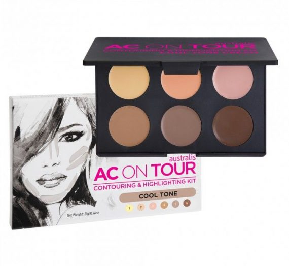 AC on tour Cream Highlighting and Contouring Kit