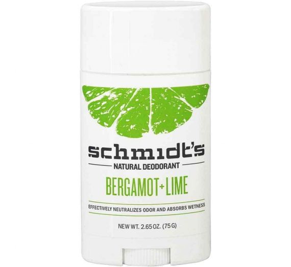 Schmidt's Natural Deodorant – Bergamot + Lime