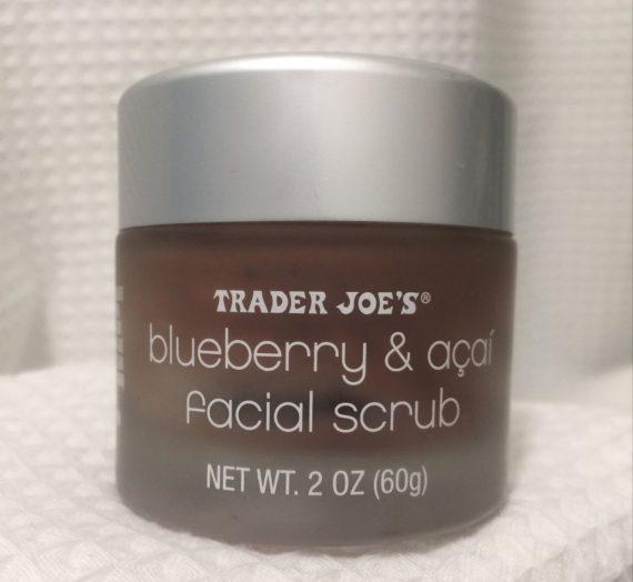 Blueberry & Acai Facial Scrub