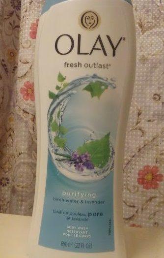 FRESH OUTLAST Purifying Birch & Lavender Body Wash