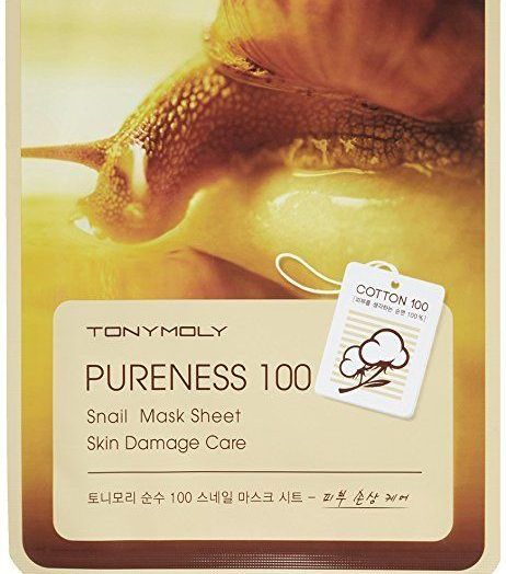 Pureness 100 Snail Mask Sheet Skin Damage Care