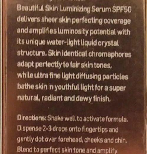 Rationale Beautiful Skin Luminizing Superfluid SPF50+