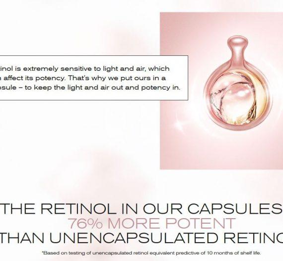 Retinol Ceramide Capsules Line Erasing Night Serum