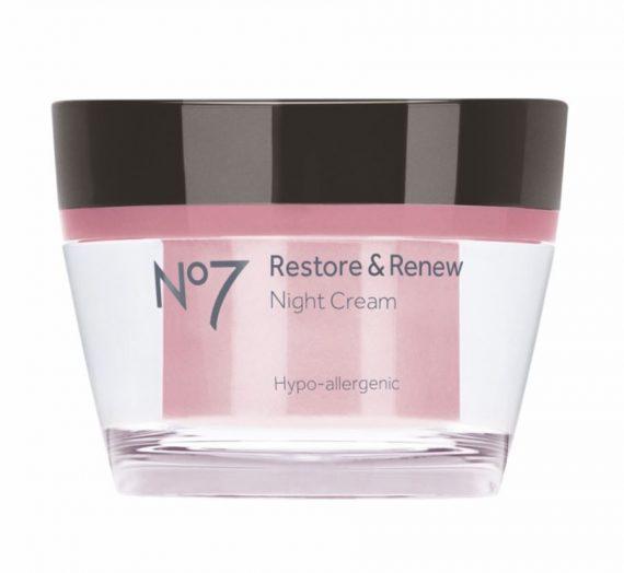 No 7 Restore & Renew Night Cream