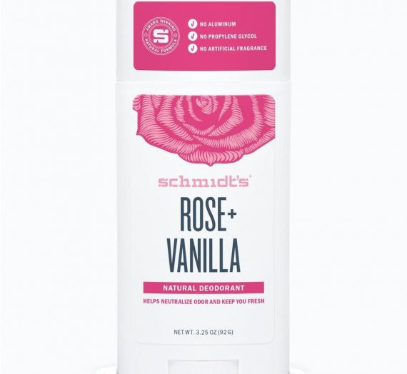 Schmidt's Natural Deodorant – Rose + Vanilla