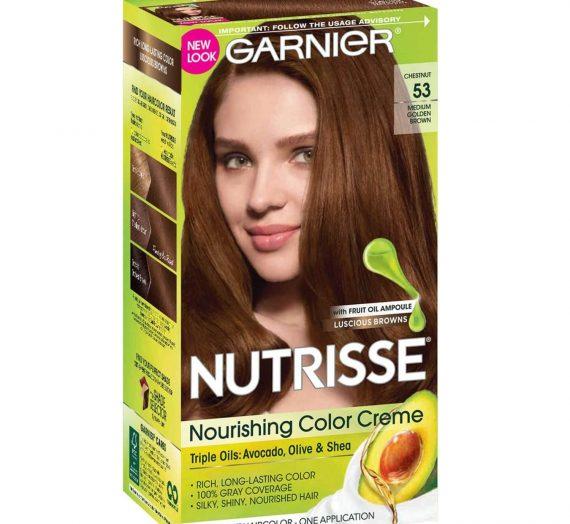 NUTRISSE Nourishing Color Creme – Medium Golden Brown 53 (Chestnut)