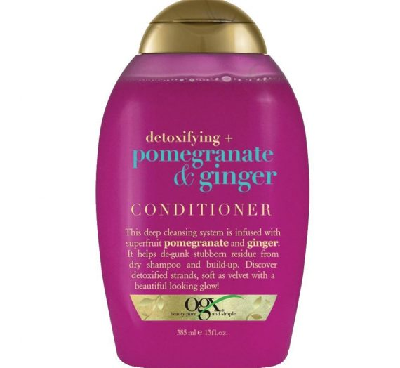 Detoxifying + Pomegranate + Ginger Conditioner