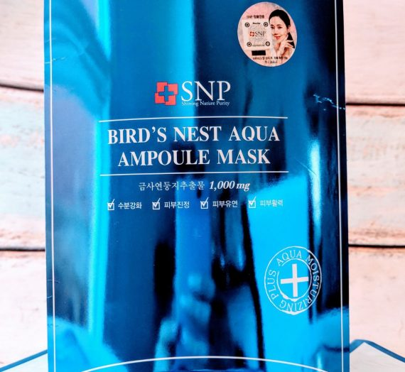 Bird's Nest Aqua AMpoule Mask