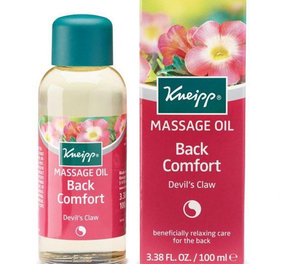 Back Comfort Massage Oil Back Comfort – Devil's Claw