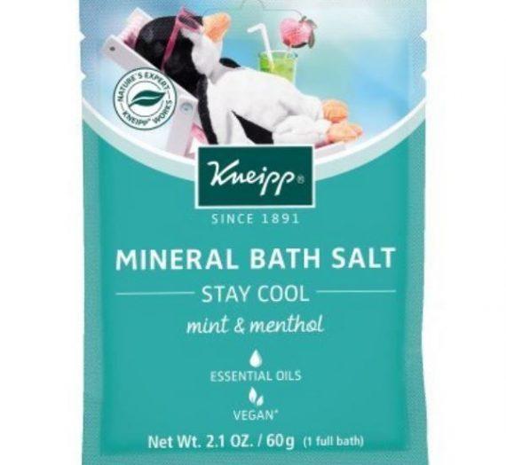 Mineral Bath Salt – Stay Cool – Mint & Menthol
