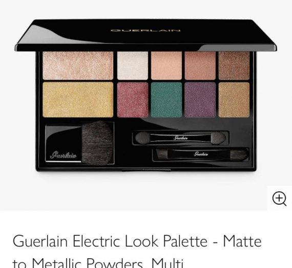 Electric Eyeshadow and Highlighter Palette
