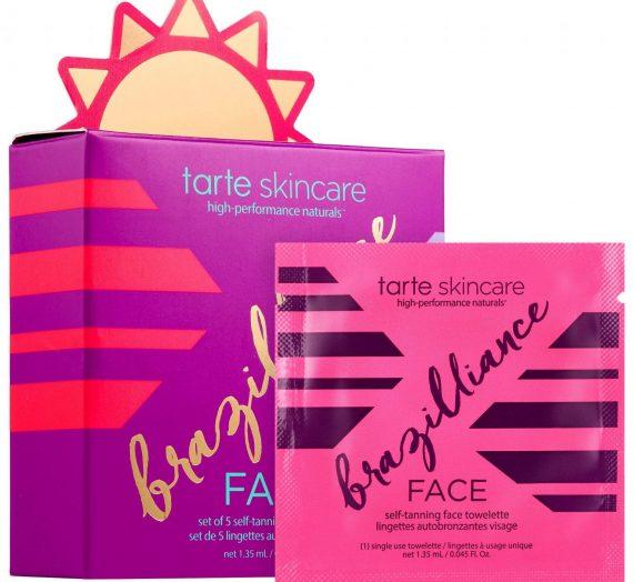 Brazilliance Skin Rejuvenating Maracuja Self Tanning Face Towelette
