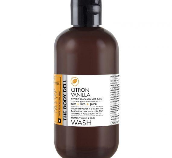 The Body Deli CITRON VANILLA Nutrient Hand & Body Wash
