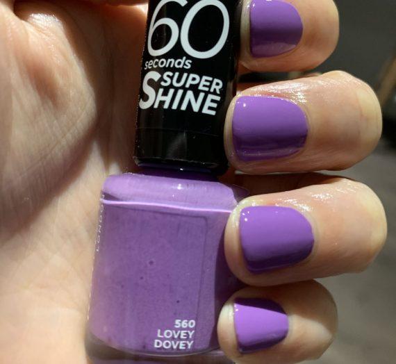 60 Seconds Super Shine Nail Polish – Lovey Dovey