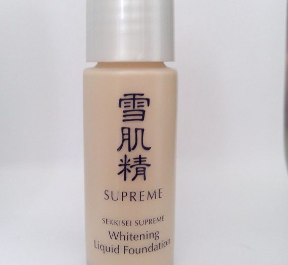 Sekkisei Supreme Whitening Liquid Foundation