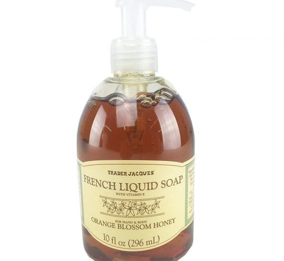French Liquid Soap Orange Blossom Honey