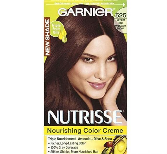 Nutrisse Permanent Haircolor – 525 Medium Rich Mahogany Brown