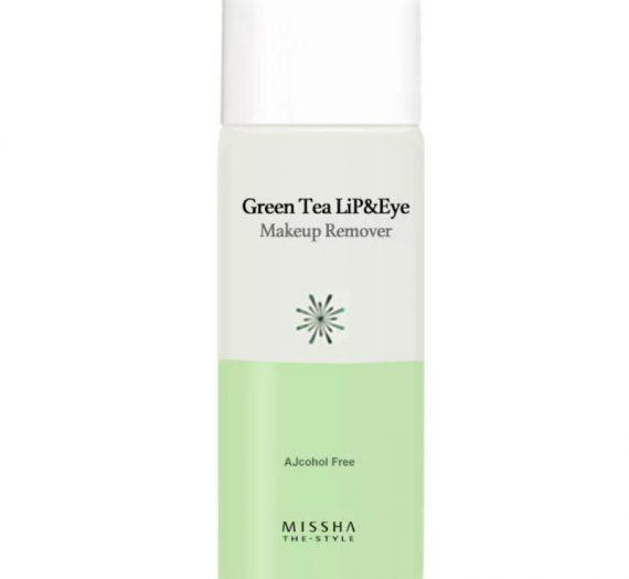 Green Tea Lip & Eye Makeup Remover