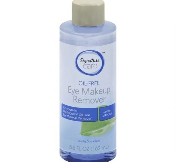 Signature Care Oil-Free Eye Makeup Remover