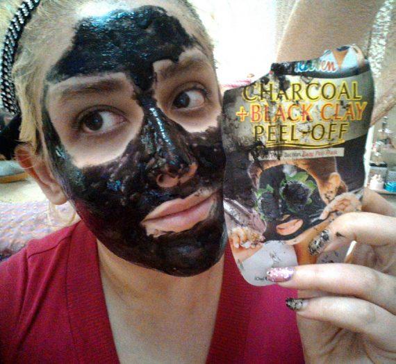 7th Heaven Charcoal + Black Clay Peel off