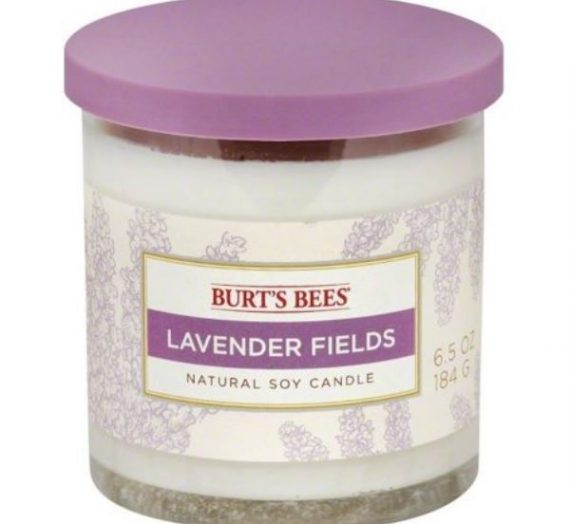 Lavender Fields Natural Soy Candle