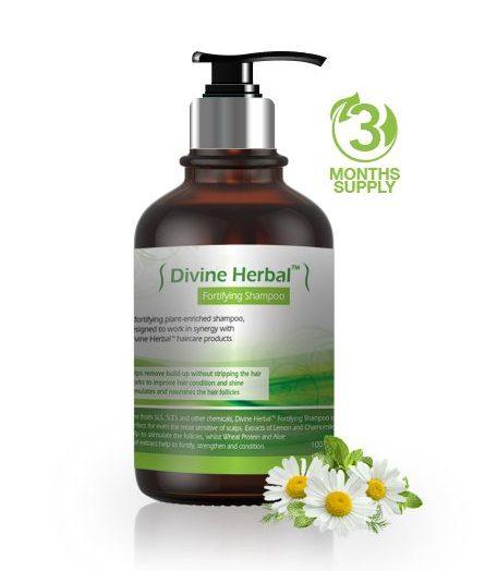 Divine Herbal – Fortifying Shampoo